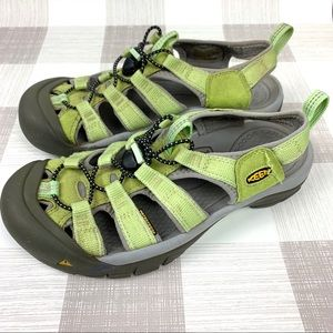 Keen Newport Green Waterproof Sandals Sz 8.5
